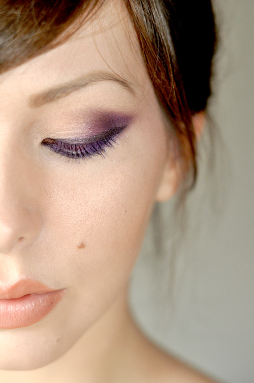 Purple Haze Eye Look