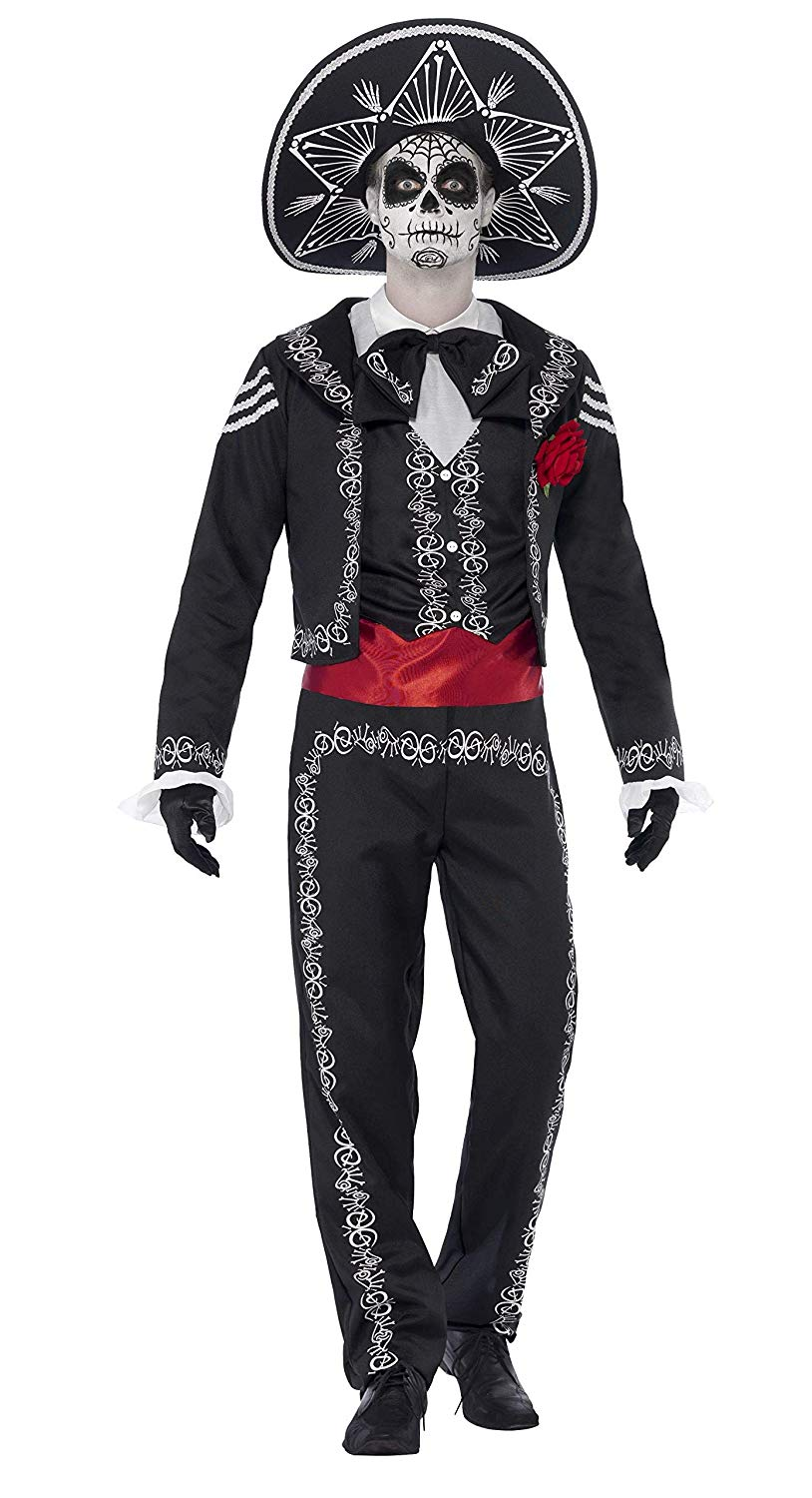 mens day of dead costume