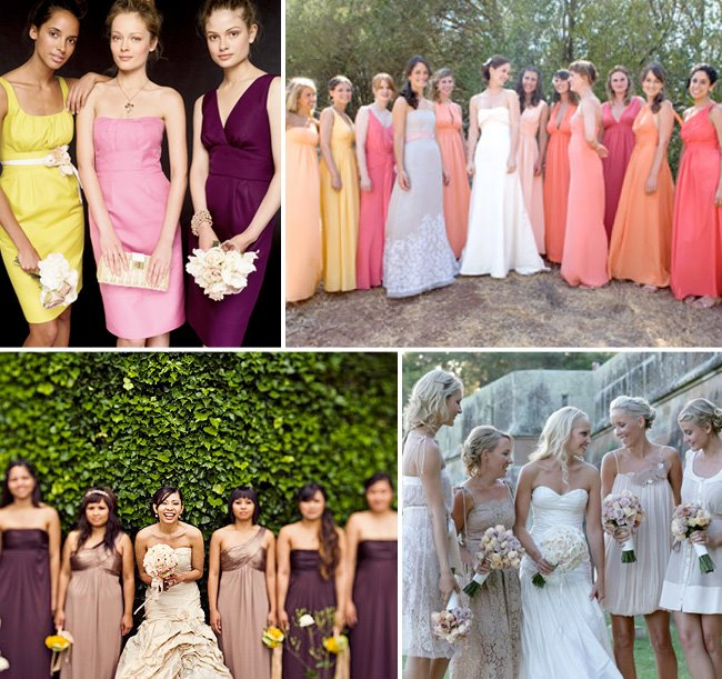 Bridesmaids Dresses That Make a Statement