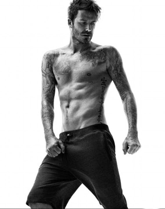 Beckham sweatpants photo thanks to H&M