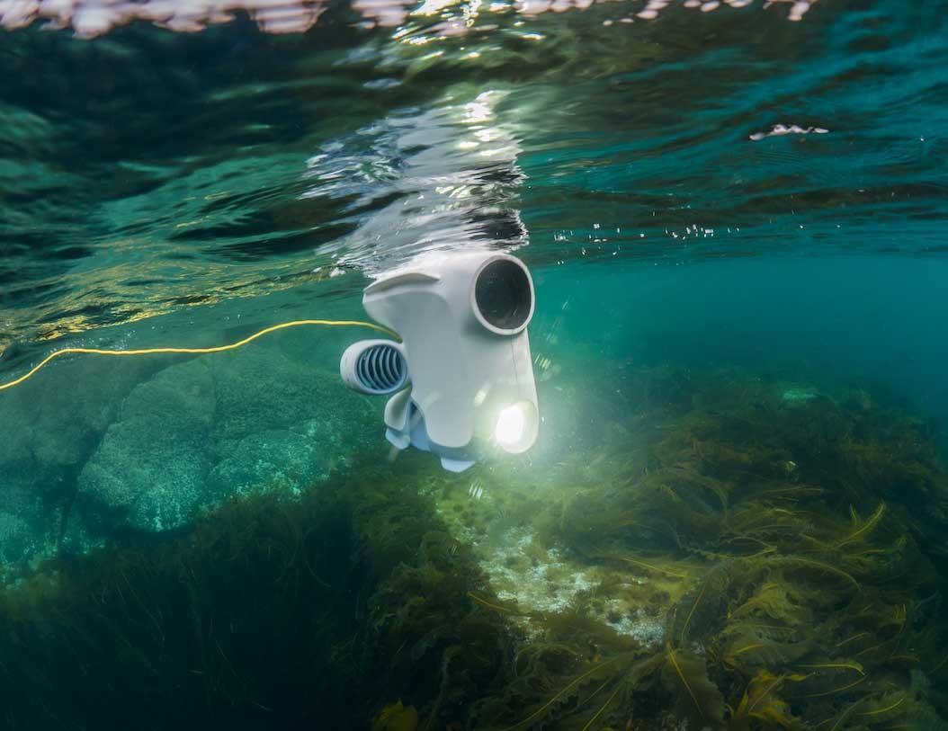 blueeye underwater drone