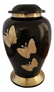 Black and Gold Urn