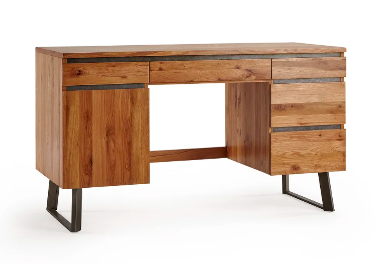 Solid Wood Desks With Drawers