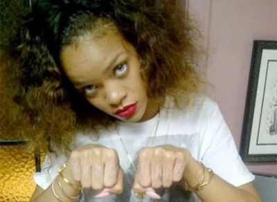 Rihanna is a Thug