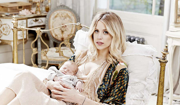 Peaches Geldof Looks Amazing Weeks After Giving Birth.