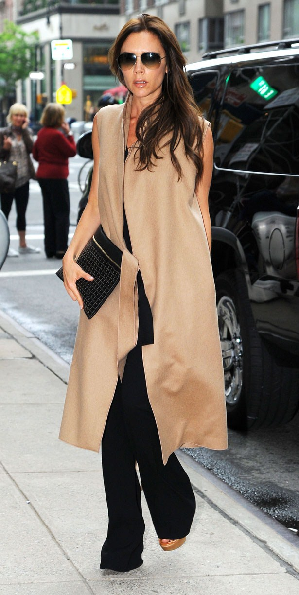 Victoria Beckham's New 'Kind of Coat'