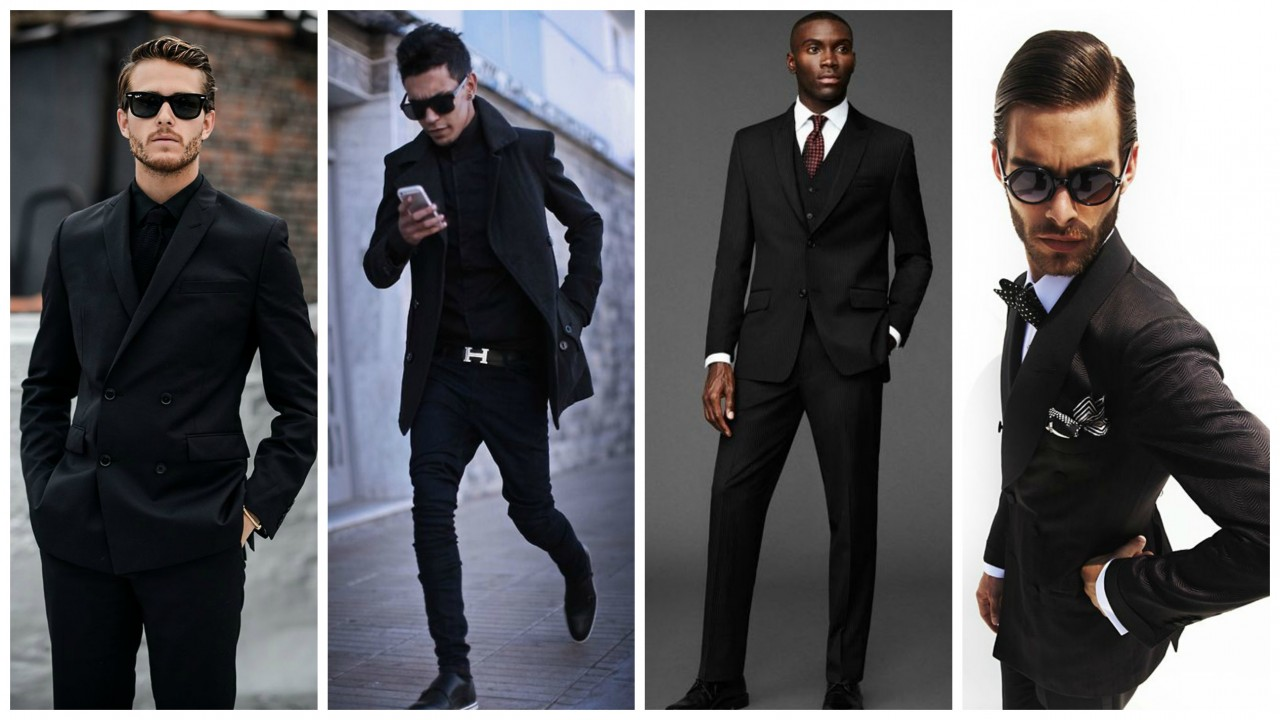 Men S Style Guide Always In Black