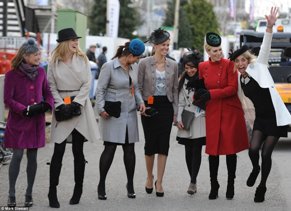 Cheltenham Races Ladies Day Fashion