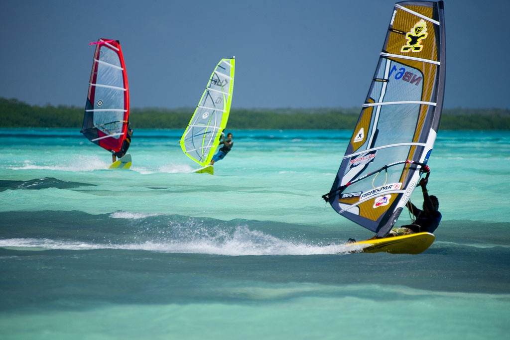 How about learning to windsurf in Bonaire | Stylish Travel