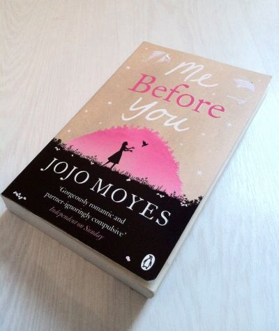 Me Before You Book Review– Jojo Moyes