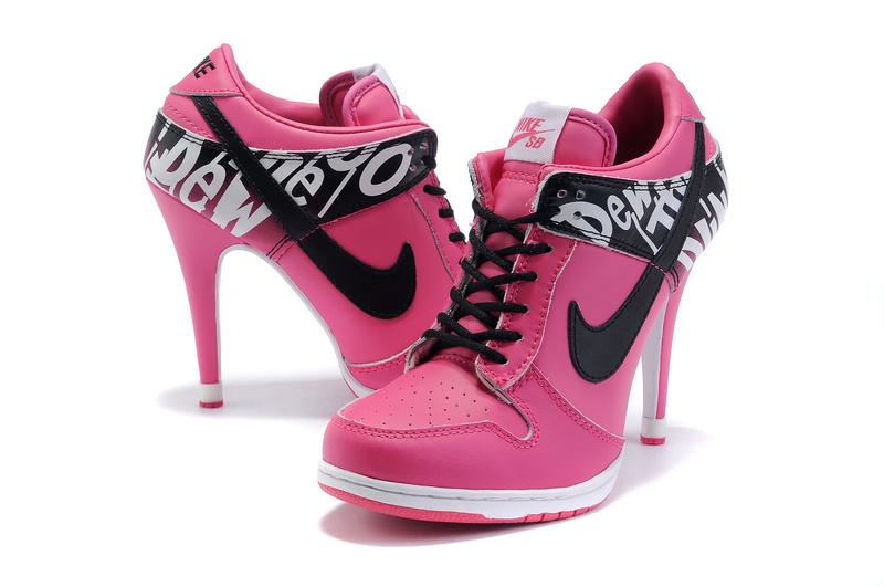 nike high heels