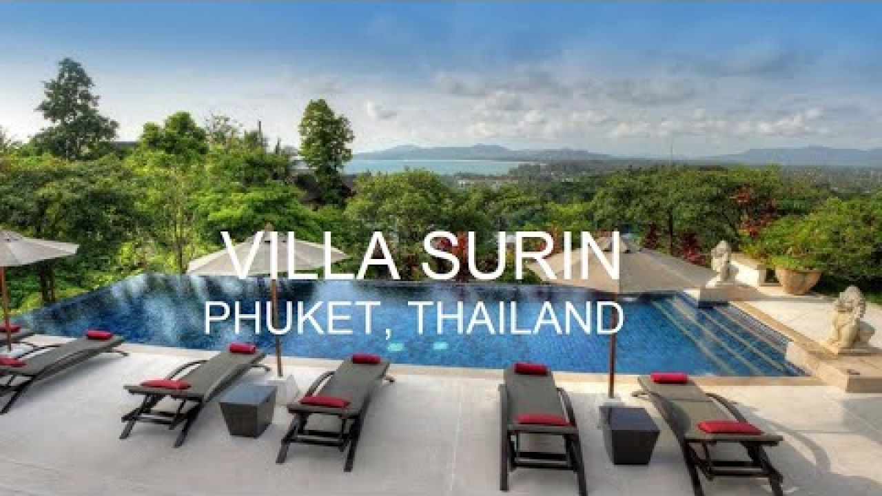 Magnificent 8 Bedroom Luxury Villa 4270 in Surin, Phuket, Thailand Villa Getaways