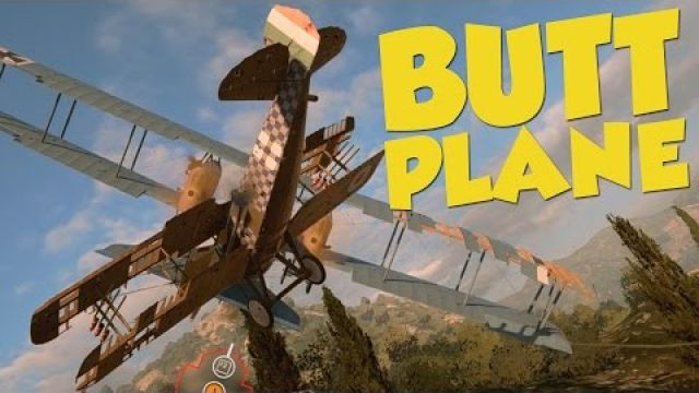 Battlefield 1 Funtage - Butt Plane, The Adventurer & Bombing Run! - BF1 Ultimate Edition Giveaway