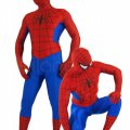 Get a Spiderman suit for haloween ! (dont jump from buildings)