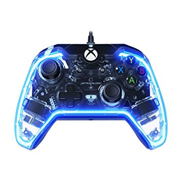 blue glow controller xbox