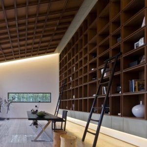 Alcoves reminds me of a library (and other storage thoughts)