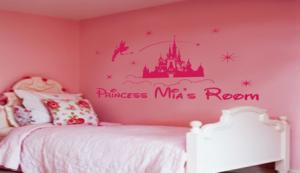 princess wall decal