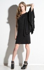 Cheap Monday - Womens Cape Sleeve Dress (Black)
