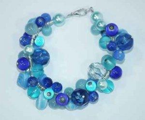 Blue Beaded Jewellery