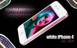 IPhone goes white and luxury ! CHIC edition