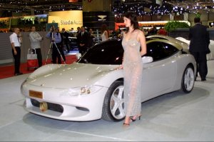 Frankfurt Motor Show Beauties
