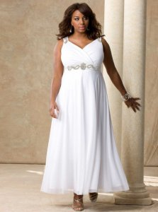 Wedding dresses for larger women