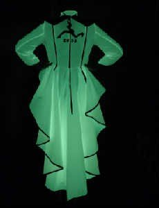 phosphor fabric dress - You are my Lady