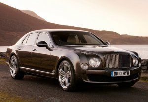 Bentley Mulsanne, the edges are a bit roundey