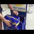 Taking full advantage of Ryanair's cabin baggage allowance