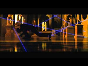 Oceans Twelve Laser Dance HD 1080p